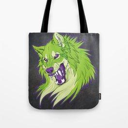 Ravewolf - Lime and Grape Tote Bag