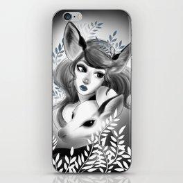 Deer girl iPhone Skin