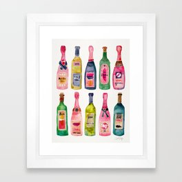 Champagne Collection Framed Art Print