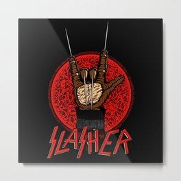 Slasher movie Metal Print
