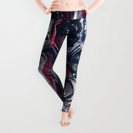 Astronaut Flag Leggings