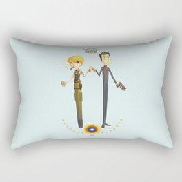 Battlestar couple Rectangular Pillow