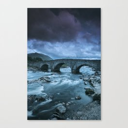 The Bridge at Sligachan Canvas Print