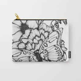 Fluttering Ink Carry-All Pouch