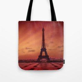 Eiffel Tower at Sunrise Tote Bag