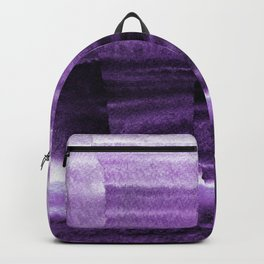 Violet Escape Watercolor Backpack