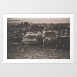 Baker Ranch Art Print