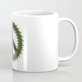 Weed Peace Sign - Marijuana THC CBD Stoner Coffee Mug