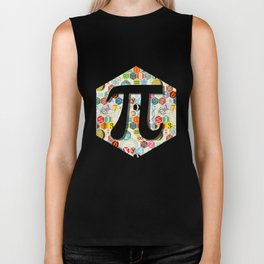 Math in color (little) Biker Tank