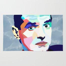 Portrait of Hans Holzel (Falco) Rug