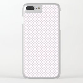 Twilight Polka Dots Clear iPhone Case