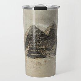 The pyramids - Egypt Travel Mug