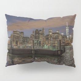 Manhattan Sunset Glow Pillow Sham
