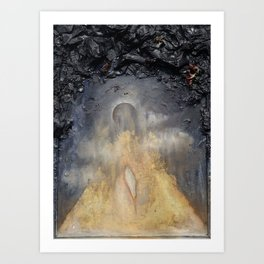Kenosis (Birth from an Eclipse) Art Print
