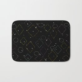 Tipping Squares Bath Mat