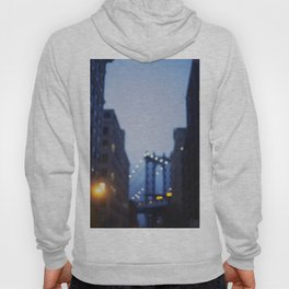 Manhattan Bridge at Night II Hoody