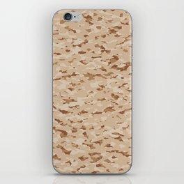 Camouflage: Arid Desert IV iPhone Skin