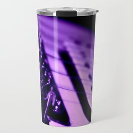 Guitar in Purple fine art photography Travel Mug