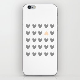 heart of contradiction iPhone Skin