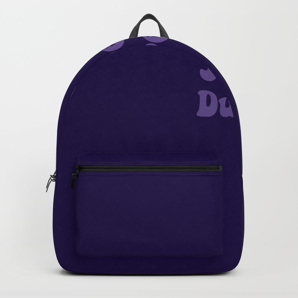 Super Duper - Ultra Violet Backpack by Laurabethlove BKP8480648