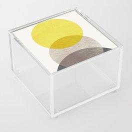 SUN MOON EARTH Acrylic Box