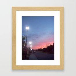 Beam Me Up Framed Art Print