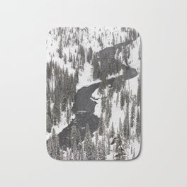 Yellowstone National Park - Lewis River Bath Mat