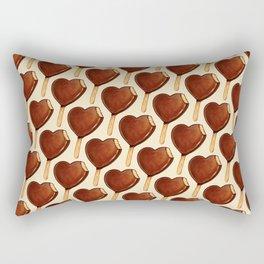 Ice Cream Pattern - Heart Rectangular Pillow