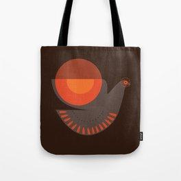 Mid-century Illustrated Bird No. 7 Tote Bag