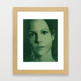 Weeds - Nancy Botwin Framed Art Print