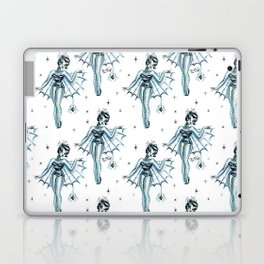 Black Widow Burlesque Doll Laptop & iPad Skin