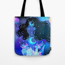 Nocturnal Goddess Tote Bag