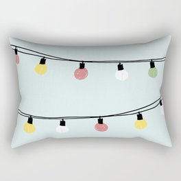 Fiesta and Lampions Rectangular Pillow
