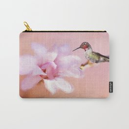 Spring Hummer Carry-All Pouch