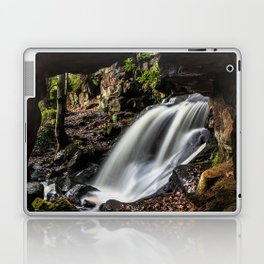 Caves at Lumsdale Laptop & iPad Skin