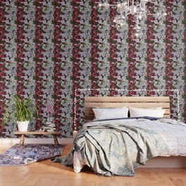 Cascade Of Petunias Wallpaper