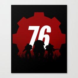Fallout 76 Canvas Print