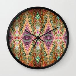 Digital Art: Abstract - Rediscover Wall Clock