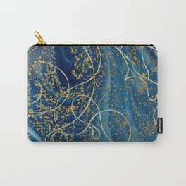 Marbled Woman Carry-All Pouch