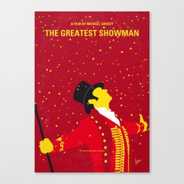 No965 My The Greatest Showman minimal movie poster Canvas Print