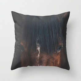 Horse - Cheyenne Throw Pillow
