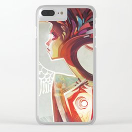 Flightless Clear iPhone Case