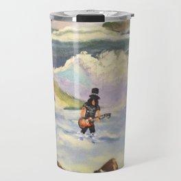S l a s h  in the ocean Travel Mug