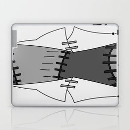 Franken Stein Lab Coat Laptop & iPad Skin