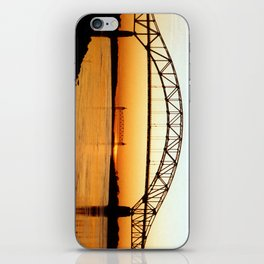Cape Cod Bourne Bridge iPhone Skin