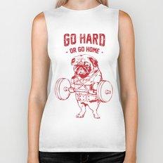 GO HARD OR GO HOME Biker Tank