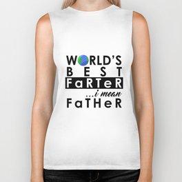 World's Greatest Farter, I mean Father Biker Tank