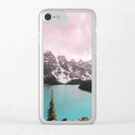Moraine Lake Banff National Park Clear iPhone Case