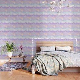 Unicorn Pastel Clouds #1 #decor #art #society6 Wallpaper