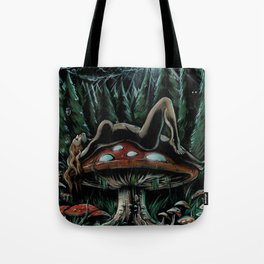 Stargazer (Live Painting) Tote Bag